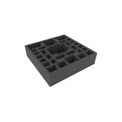 AGER055BO 295 mm x 295 mm x 75 mm (3 inches) foam tray for board game boxes