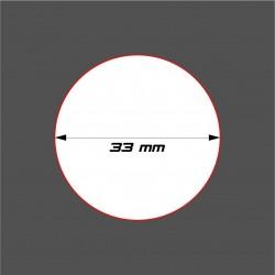 STUFF4GAMES-SOCLE CIRCULAIRE 33mm ACRYLIQUE