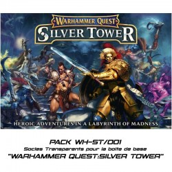 WARHAMMER QUEST : SILVER TOWER - Socles pour la boite de base