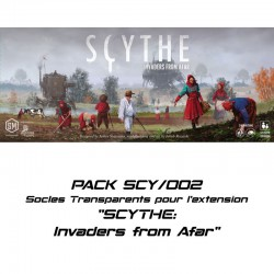 SCYTHE:Invaders from Afar - Socles pour l'extension