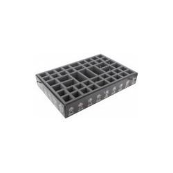 STUFF4GAMES-ATFB075BO 75 mm (2.95 inches)Foam tray value set for The Horus Heresy - Burning of Prospero boardgame box