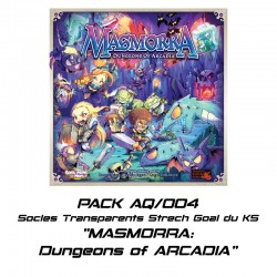 MASMORRA : Dungeons of ARCADIA - socles pour Stretch Goal du KS