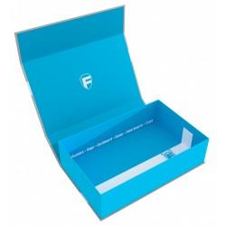 STUFF4GAMES-Feldherr Magnetic Box half-size 75 mm blue empty