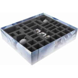 STUFF4GAMES-BG065CO02 65 mm (2.56 inch) foam tray for the Conan Expansion: Nordheim