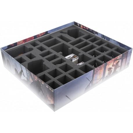 STUFF4GAMES-BG065CO01 65 mm (2.56 inch) foam tray for the Conan Expansion: Khitai