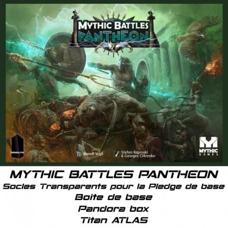 STUFF4GAMES - MYTHIC BATTLES PANTHEON-Socles pour le Pledge de base