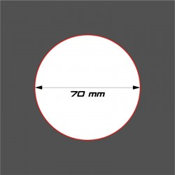 STUFF4GAMES-SOCLE CIRCULAIRE 70mm ACRYLIQUE