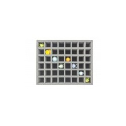 STUFF4GAMES-FS070KR06 70 mm (2.75 Inch) Figure Foam Tray with 48 slots - full-size