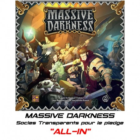 "MASSIVE DARKNESS-Socles pour le Pledge ""ALL-IN"""