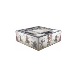 STUFF4GAMES-Foam tray value set for Zombicide Black Plague
