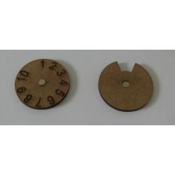 COMPTEUR PERTE/MORAL Diametre 40mm
