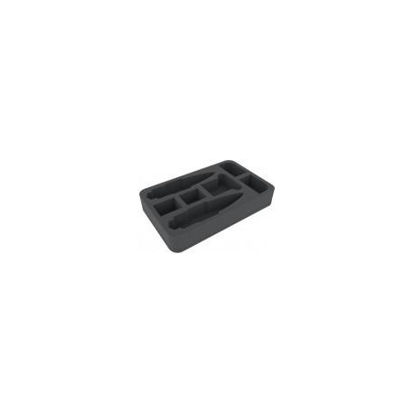 STUFF4GAMES-HSDP045BO foam tray for Star Wars Armada Wave 2 Home One