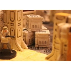 STUFF4GAMES-Caisses miniatures Sci Fi type 001