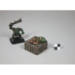 STUFF4GAMES-Pion objectif caisses cubes avec bourse pièces