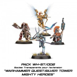 WARHAMMER QUEST : SILVER TOWER - Socles pour l'extension MIGHTY HEROES