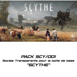SCYTHE - Socles pour la boite de base