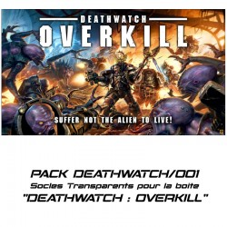 DEATHWATCH OVERKILL - Socles pour la boite de base