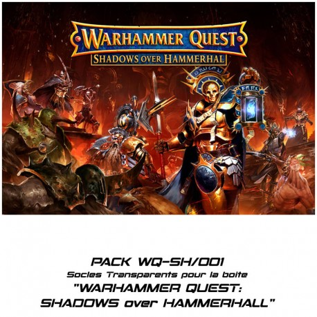 WARHAMMER QUEST : SHADOWS over HAMMERHALL - Socles pour la boite l'extension