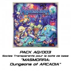 MASMORRA : Dungeons of ARCADIA -Socles pour boite de base