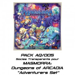 MASMORRA : Dungeons of ARCADIA -socles pour Adventurers Set