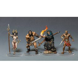 "STUFF4GAMES - CONAN - Socles pour l'extension ""Nordheim"""