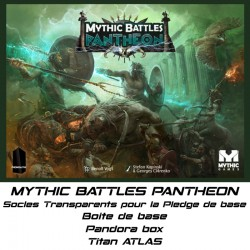 STUFF4GAMES - MYTHIC BATTLES PANTHEON-Socles pour le Pledge de base