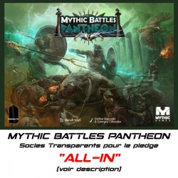 "MYTHIC BATTLES PANTHEON-Socles pour le Pledge ""ALL-IN"""
