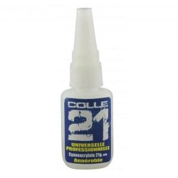 Colle 21 cyanoacrylate 21g pour maquette et figurineCOLLE 21