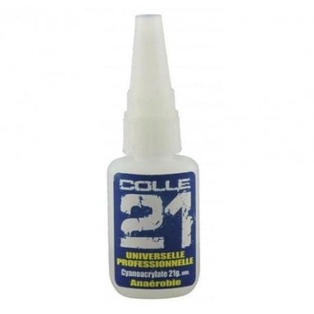 STUFF4GAMES - Colle 21 cyanoacrylate 21g pour maquette et figurine - COLLE 21