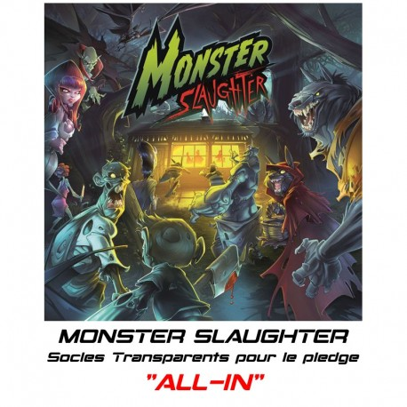 """MONSTER SLAUGHTER-Socles pour le Pledge """"ALL-IN"""""""