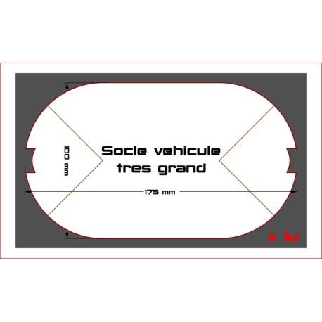 STAR WARS LEGION-Socles pour vehicule TX-225 ou X-34