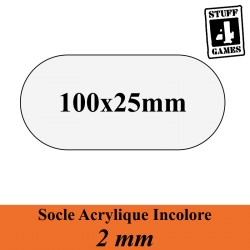BLACK SEAS - SOCLE FREGATE 100x25mm