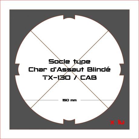 STAR WARS LEGION-Socles pour Char d'Assaut Blindé