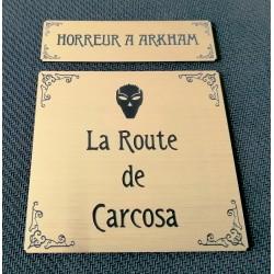 HORREUR A ARKHAM JCE - ETIQUETTES CARCOSA