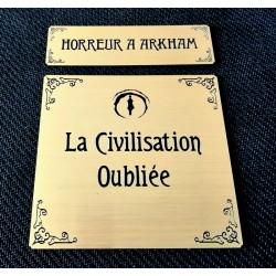 HORREUR A ARKHAM JCE - ETIQUETTES CIVILISATION