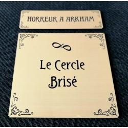 HORREUR A ARKHAM JCE - ETIQUETTES CERCLE