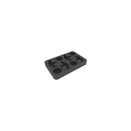 STUFF4GAMES-HSGA035BO foam tray for Star Wars X-WING 4 x ARC-170 or K-Wing and accessories