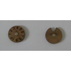 COMPTEUR PERTE/MORAL Diametre 25mm